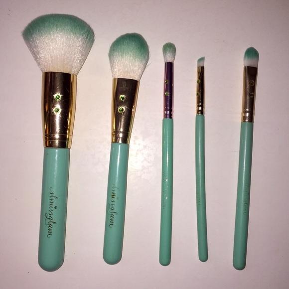 Sephora Other - 6 pc Slmissglam Madison Miller Brush Set